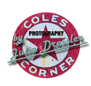 Julia Dressler Photography Coles Corner vintage vehicle neon sigs
