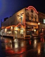Storm at Texas Tavern